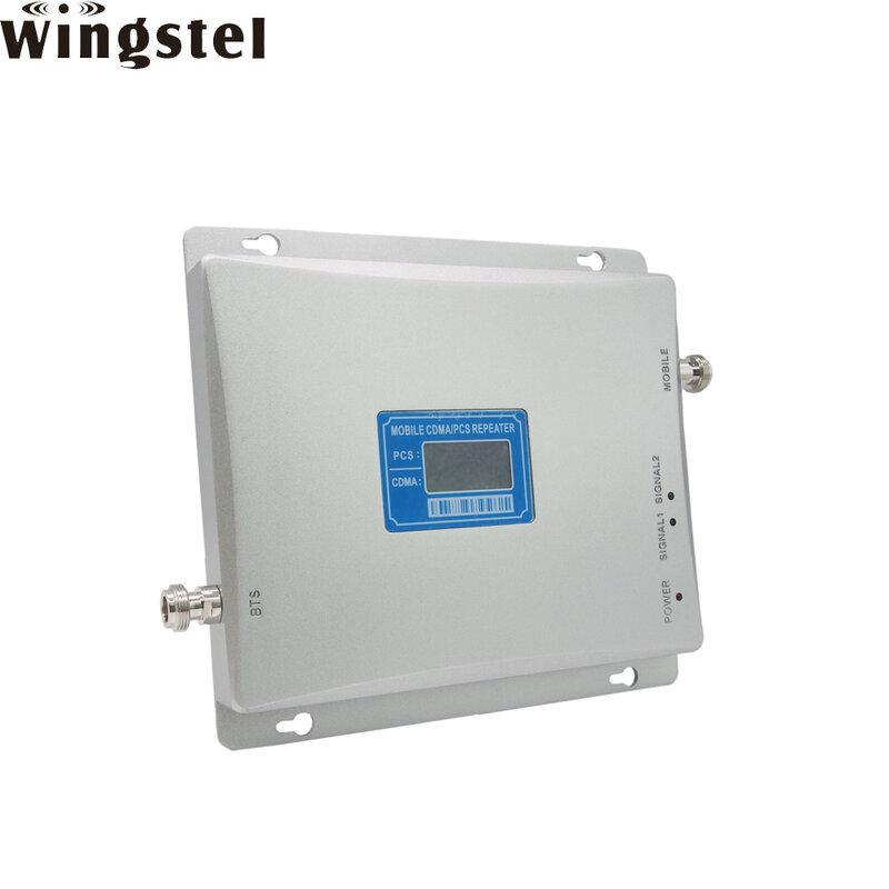 Wingstel-مقوي إشارة الهاتف المحمول 2G 3G 4G LTE, مكرر إشارة شبكة مزدوج النطاق 850/1900mhz لمنطقة أمريكا