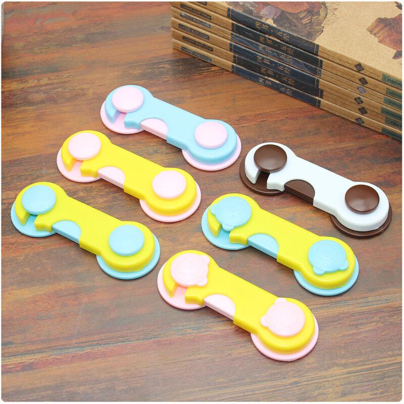 10 لون قفل أمان للطفل قفل خزانة للطفل الرضع الباب أدراج to30a حماية الثلاجة نافذة خزانة خزانة قفل