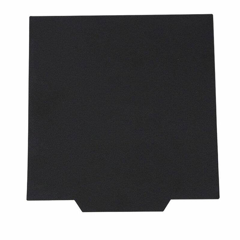 شريط سرير مطبوع أسود ، ملصق ، منصة طابعة ثلاثية الأبعاد ، 235 × 235 مللي متر ، للطابعة ثلاثية الأبعاد ، ملصق سرير ساخن
