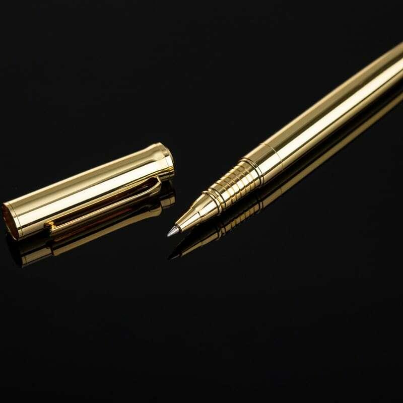 2021 جديد فاخر المعادن رولربال أقلام حبر جاف توقيع الكرة نقطة هلام القلم للأعمال التجارية