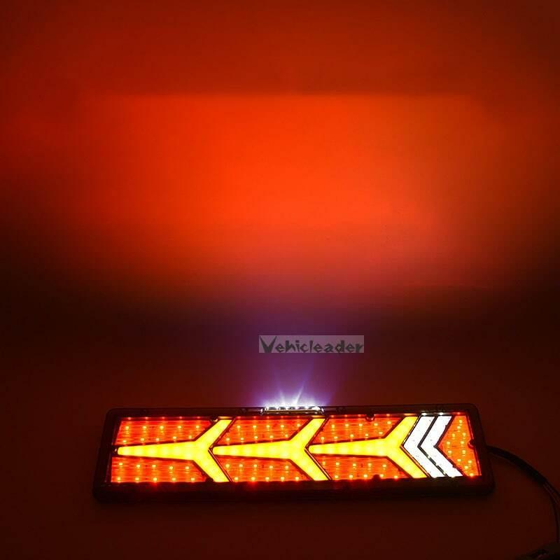 2 قطعة 24 فولت شاحنة LED الخلفية الذيل ضوء مقطورة تحذير الضوء الخلفي الخلفي لشاحنة مقطورة القوافل UTE تخييم الضباب مصباح الضوء الخلفي