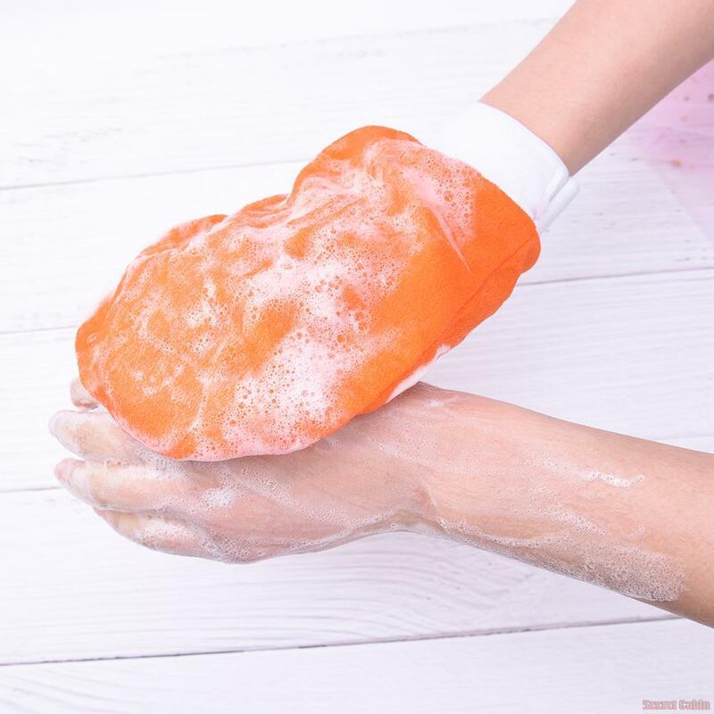 1 قطعة الحمام الحمام رشاقته حمام ماجيك تقشير قفاز التقشير تان إزالة كيسا فرك وغسل الاستحمام تنظيف المنتجات