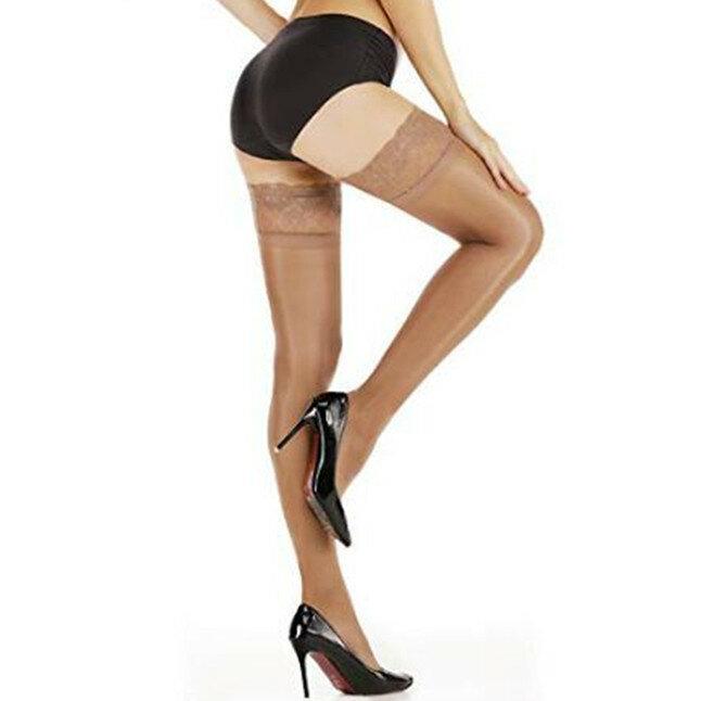 عدم الانزلاق سيليكون تخزين المرأة العصرية الطاووس الدانتيل قمة لامعة جوارب Tiptoe شفافة تنفس ومثير الجوارب
