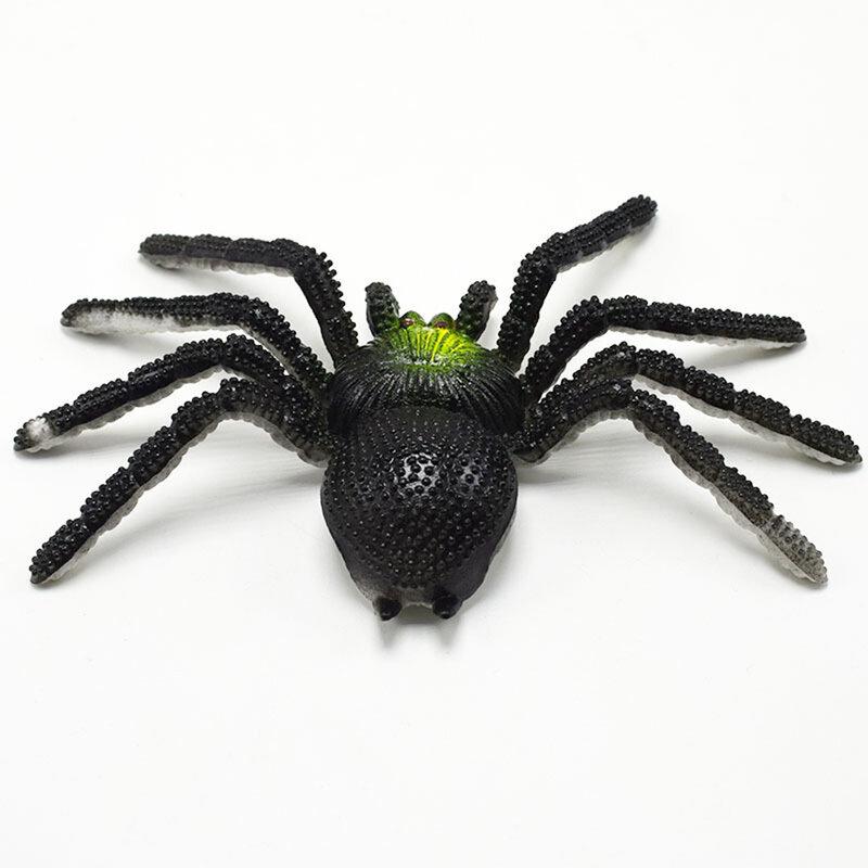 عنكبوت مخيف واقعي مزيف 15 سنتيمتر ، نموذج لعبة ، لألعاب الهالوين ، نكتة ، مخيفة ، دعائم الهالوين ، محاكاة جاك ، حداثة ، ألعاب مرحة