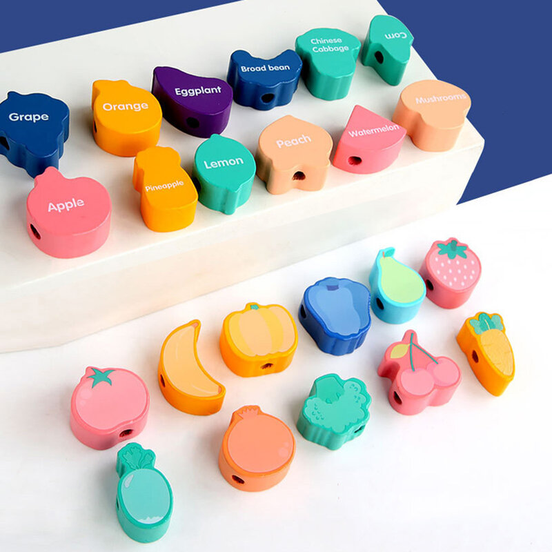 خيوط لعبة الخرز اللعب هندسية Figurebeads التوتير خيوط الخرز لعبة التعليم لعبة للطفل الاطفال الأطفال الحرف حبة