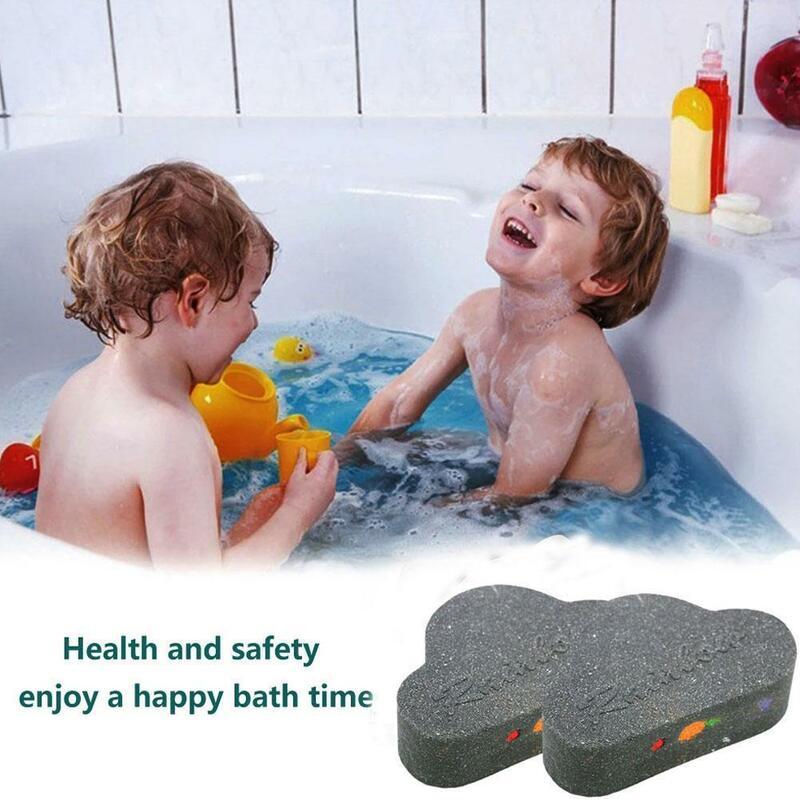 أسود سحابة قوس قزح ملح استحمام ترطيب مغذي التقشير الصابون الأطفال حمام الجلد الكبار ل كرات لمسبح الأطفال العناية Whiteni D6U5
