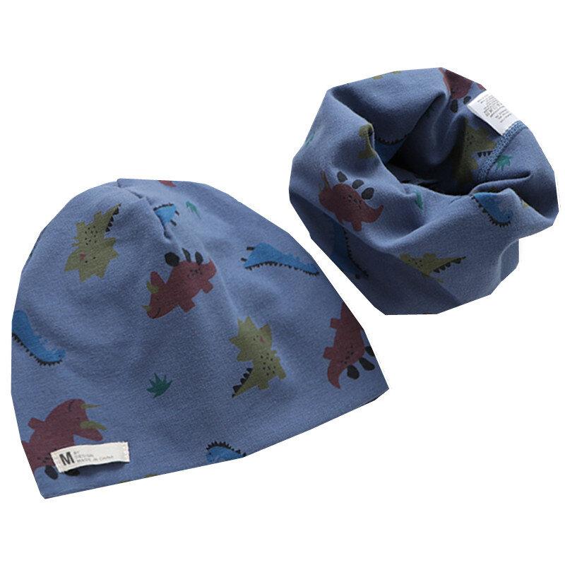 جديد عصري للأطفال وشاح قبعة الفتيات طقم قبعات الطفل بونيه بنين شتاء دافئ أغطية الرأس الفتيات الرقبة الأقواس من bonnet الأطفال