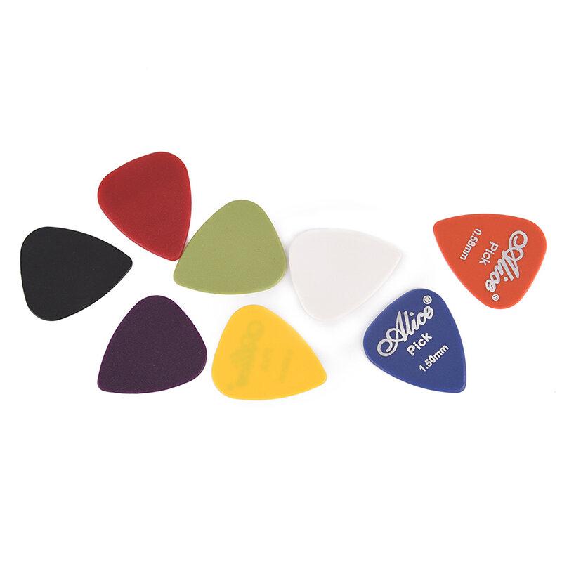 50 قطعة يختار الغيتار الكهربائي مزيج 0.58/0.71/0.81/0.96/1.2/1.5 مللي متر سمك محاصر الغيتار اكسسوارات