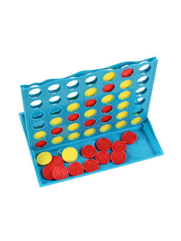أربعة في صف ساحة لعبة 4 في خط لعبة أطفال مجلس ألعاب اللون مطابقة الذكاء تطوير مجلس لعبة الكلاسيكية استراتيجية الأسرة