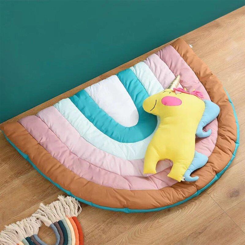 سجادة للعب الأطفال من Creative Rainbow سجادة زحف على الأرض سجادة للعب الأطفال وحديثي الولادة وحضانة الأطفال
