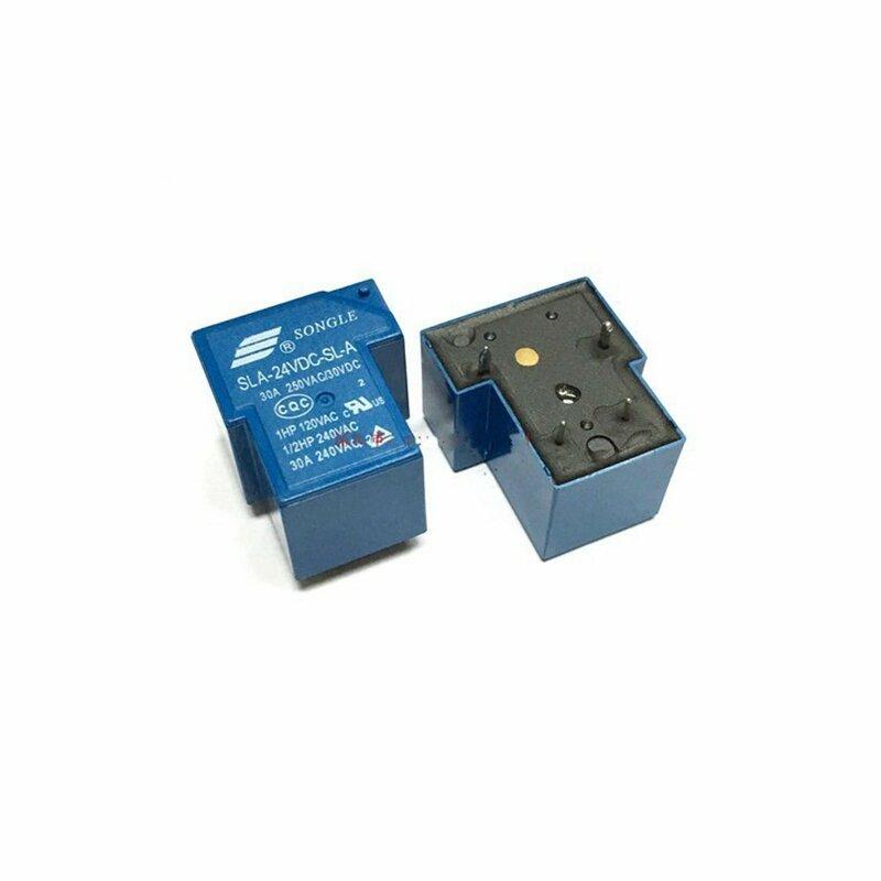 10 قطعة السلطة التبديلات SLA-24VDC-SL-C 24 فولت 30A 6PIN سونغل التتابع T90 الجديدة والأصلية
