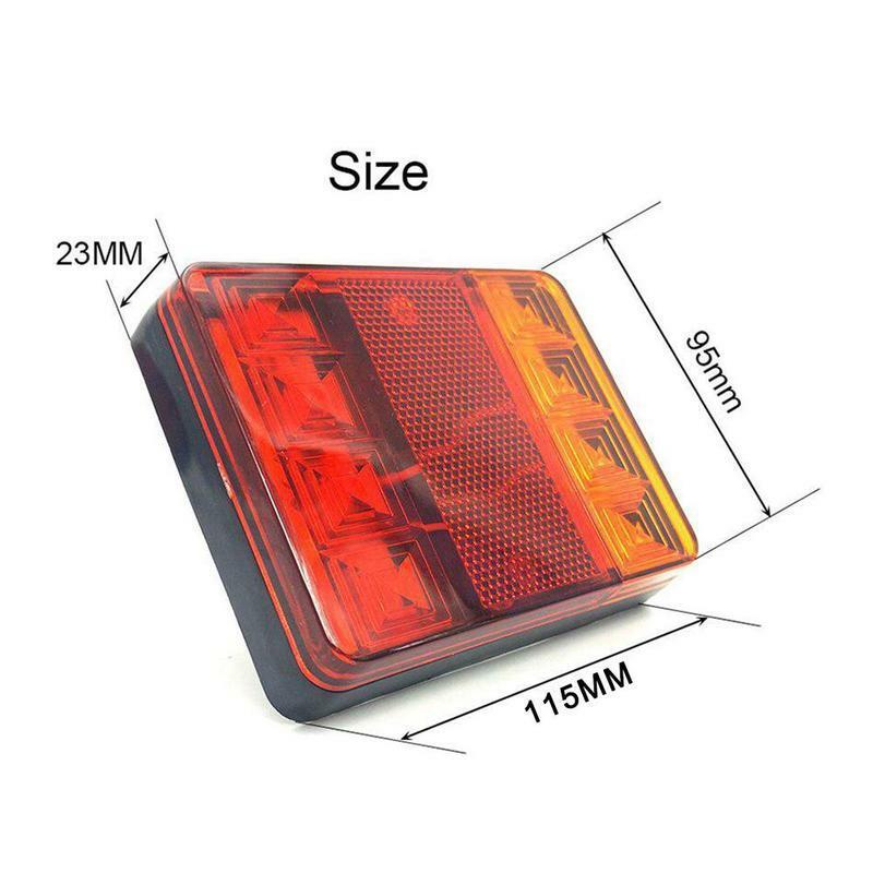 مصباح خلفي LED للسيارة ، أجزاء إضاءة خلفية للمقطورة والشاحنة ، للكرفانات والشاحنات ، مصباح خلفي D0H1 ، 2021