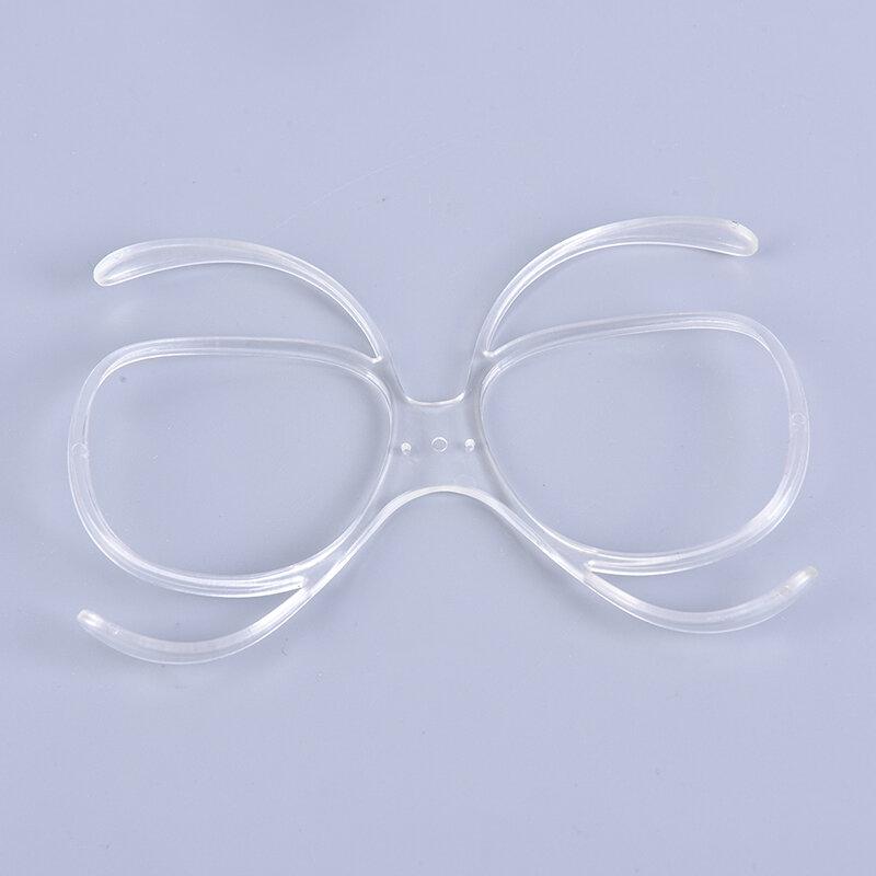 نظارات التزلج قصر النظر الإطار إدراج محول بصري إطار وصفة طبية مرنة