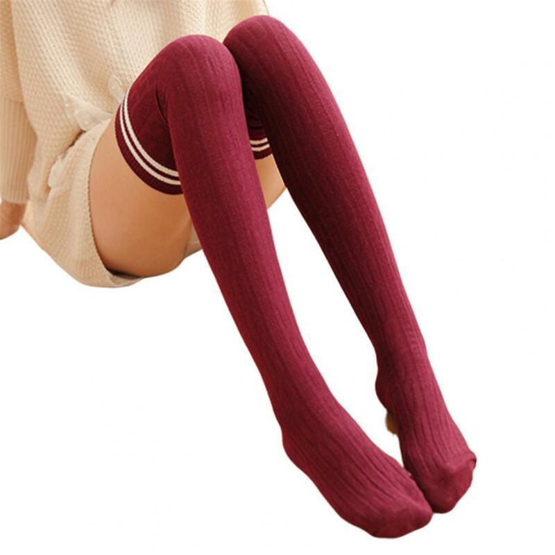 1 أزواج امرأة الجوارب الخريف الشتاء الجوارب مرونة عالية القطن الدافئة مثير الدفء الإناث عالية الجودة الدافئة الجوارب