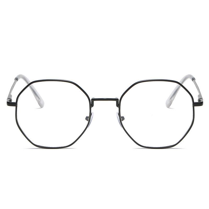 جديد عصري النساء مكتب مكافحة الضوء الأزرق المتضخم نظارات الكمبيوتر القط العين الإناث الأزرق حجب كبيرة الحجم النظارات سبيكة الإطار
