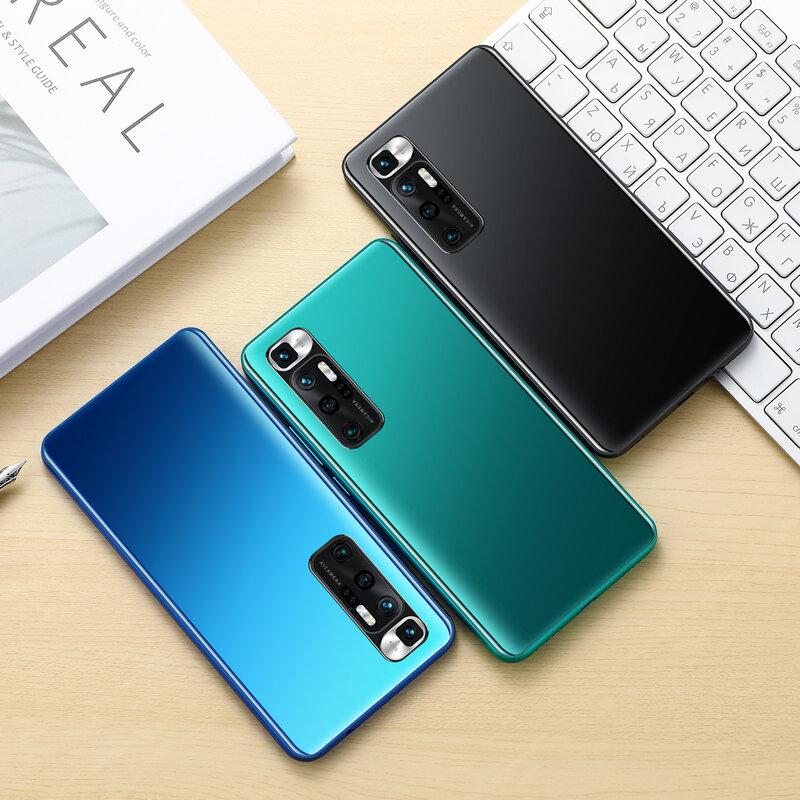 غالاكسي S21 + 6.8 بوصة الهاتف الذكي 5000mAh جدا إفتح النسخة العالمية 4G/5G الروبوت 10.0 24MP + 48MP 12GB + 512GB Celulares الذكية الهاتف
