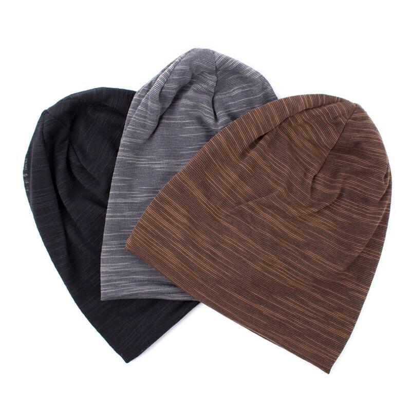 Geebro الرجال النساء محبوك مضلع قبعة صغيرة قبعة الربيع الخريف بلون الهيب هوب ترهل القبعات للجنسين Skullies Chapeu Feminino