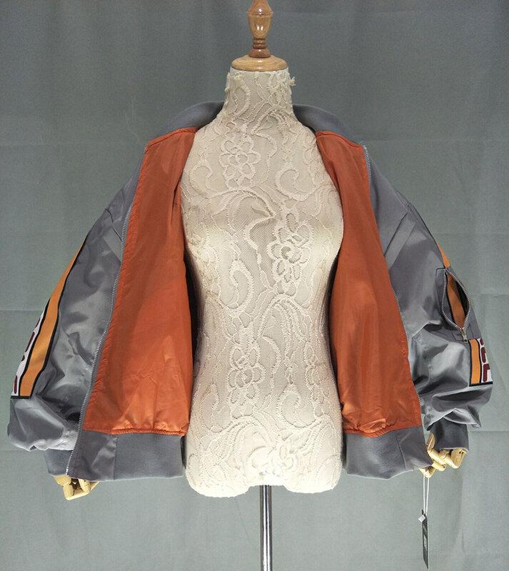 جاكت للربيع للنساء سترة واقية معطف التصحيح تصاميم Harajuku فضفاض مفجر الشارع الشهير معطف الأساسية المعتاد سترة قصيرة