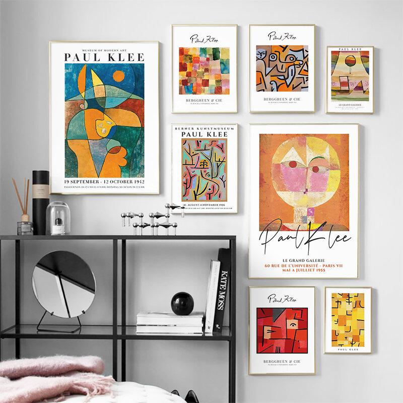 الرسم على لوحات القماش الجدارية الملونة مجردة اللون كتلة بالون ساخن الشمال الملصقات والمطبوعات جدار صور لغرفة المعيشة ديكور