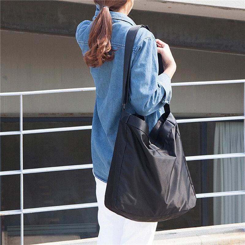 جديد مقاوم للماء حقيبة سفر كبيرة المحمولة حقيبة ظهر قطنية كبيرة النساء حقائب كروسبودي السفر منظم حقائب الكتف عطلة نهاية الأسبوع حقيبة السفر