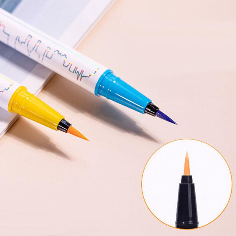 8 ألوان ماتي الكحل السائل قلم رصاص مقاوم للماء سريعة الجافة قلم تجميل كحل العين طويلة الأمد العين اينر عيون مستحضرات التجميل القلم