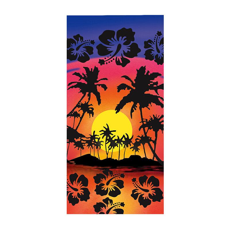 مستطيلة الشاطئ منشفة الرمال الحرة و منشفة ميكروفايبر سريعة التجفف بطانية شاطئ صالة غطاء للكبار الاطفال في الهواء الطلق 150*75 سنتيمتر XR-