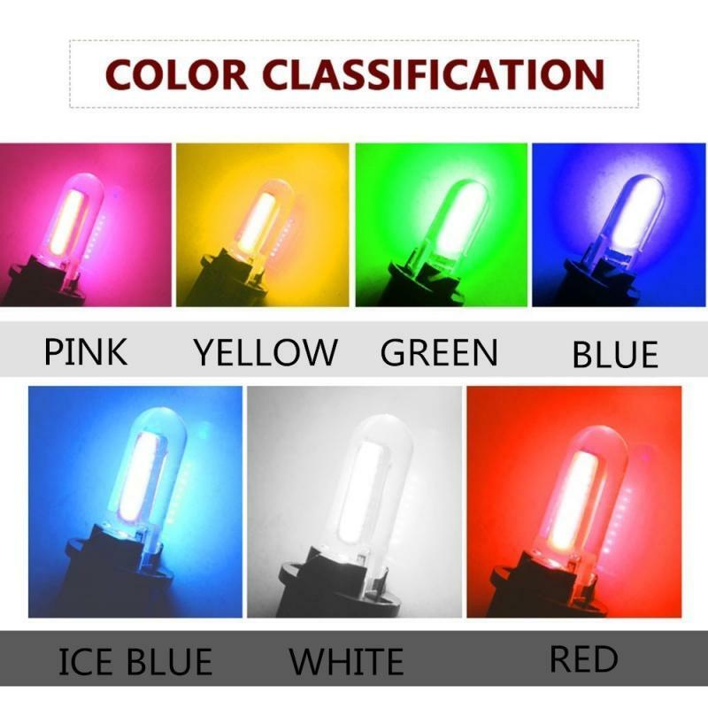 T10 LED W5W 194 أضواء سيارة لهوندا سيفيك أكورد CRV HRV جاز صالح NC750X السيارات Led الداخلية ضوء الجذع مصباح زينون 6000K 12 فولت