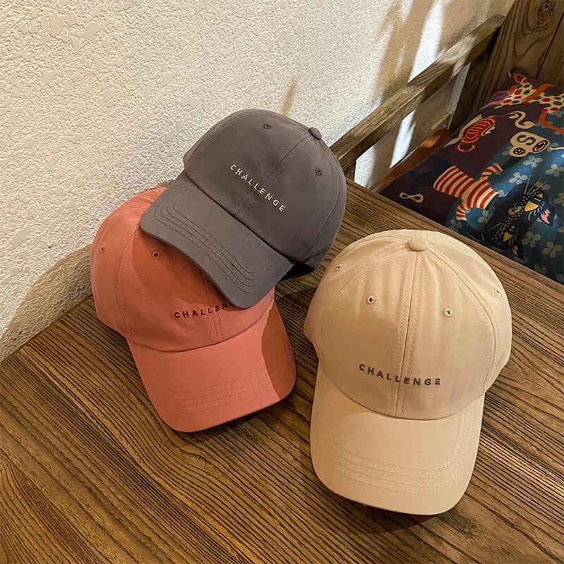 2021 موضة جديدة التحدي قبعة بيسبول للنساء والرجال الصيف Snapback قبعات للجنسين قابل للتعديل قبعات سائقي الشاحنات الهيب هوب أبي قبعة