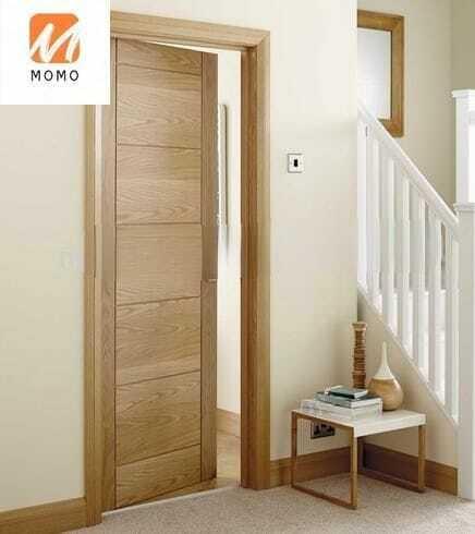 حماية البيئة الحديثة الصلبة سوينغ باب داخلي خشبي