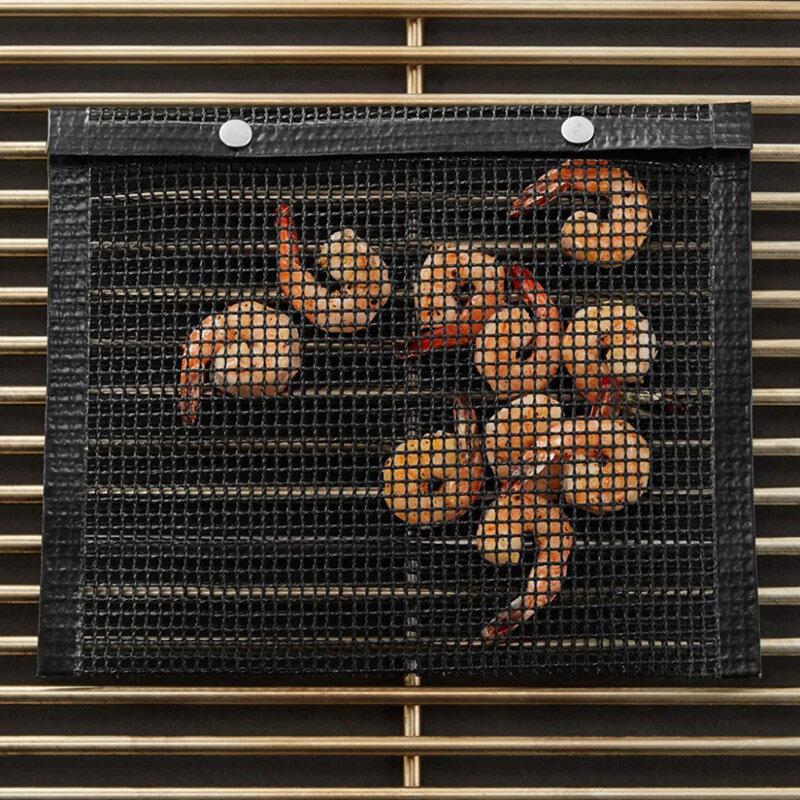 3 قطعة غير عصا شبكة الشوي حقيبة غير عصا شواء خبز حقيبة نزهة في الهواء الطلق أداة