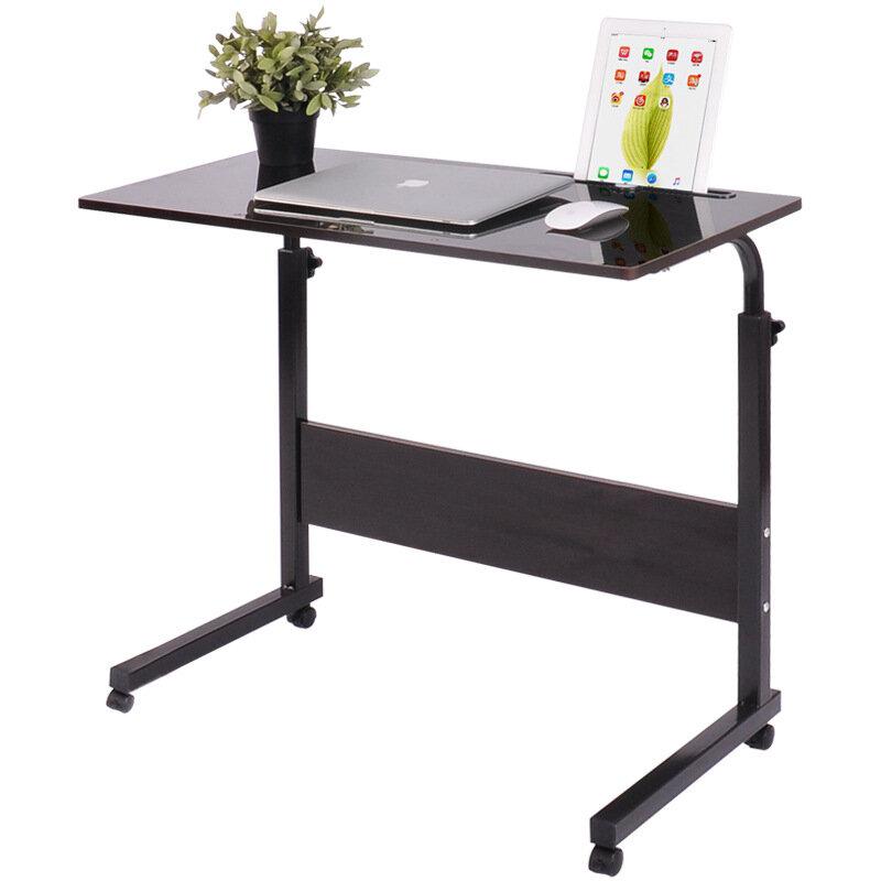 قابل للتعديل الدائمة مكتب الكمبيوتر مع فتحة الجدول لاب توب محمول مكتب المتداول طاولة كمبيوتر محمول السرير أريكة أثاث المكاتب المنزلية