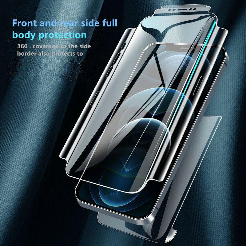 لفوست فيلم الهيدروجيل الأصلي لابل آيفون 11 برو ماكس X XR XS ماكس 12 Mini SE 2020 آيفون 6s 7 8 Plus حامي شاشة الهاتف