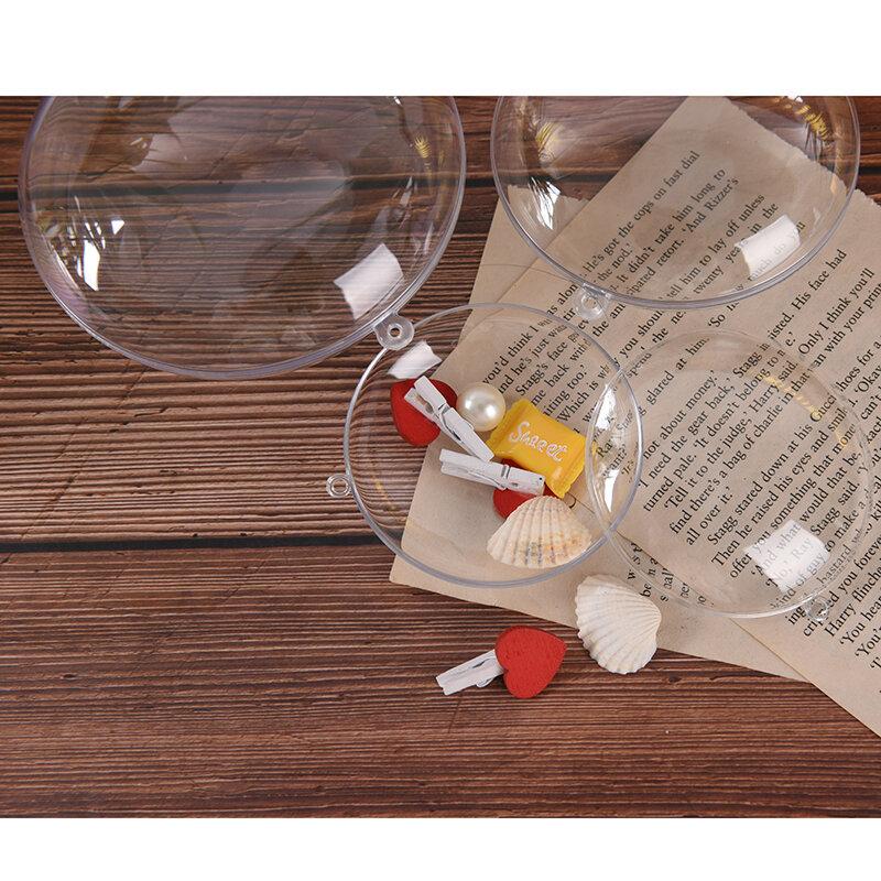 3 أحجام البيض شكل صياغة المنزل لتقوم بها بنفسك قالب فقعات الحمام البلاستيك قالب شفاف قابلة لإعادة الاستخدام فندق ديكور ل هدية الكريسماس حمام ...