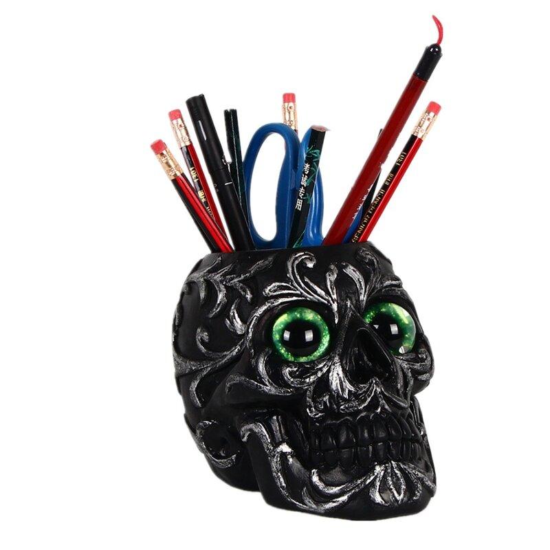 الجمجمة الدعائم هالوين الرعب الديكور كاندي صندوق العنصر صندوق تخزين مضحك الأذى الجمجمة الإرهاب واللباس