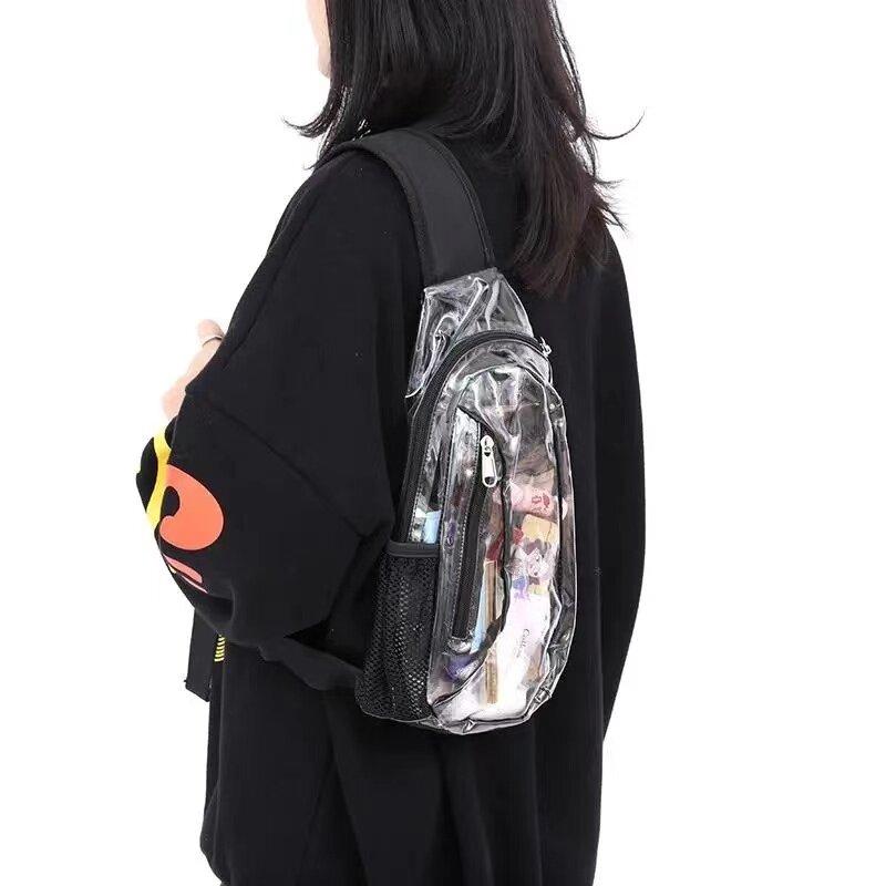 نمط جديد فاخر العلامة التجارية مصمم متعددة الوظائف Crossbody الرجال حقائب الصدر الشهيرة حزمة رحلة قصيرة الخصر حقيبة حقيبة كتف للرجال
