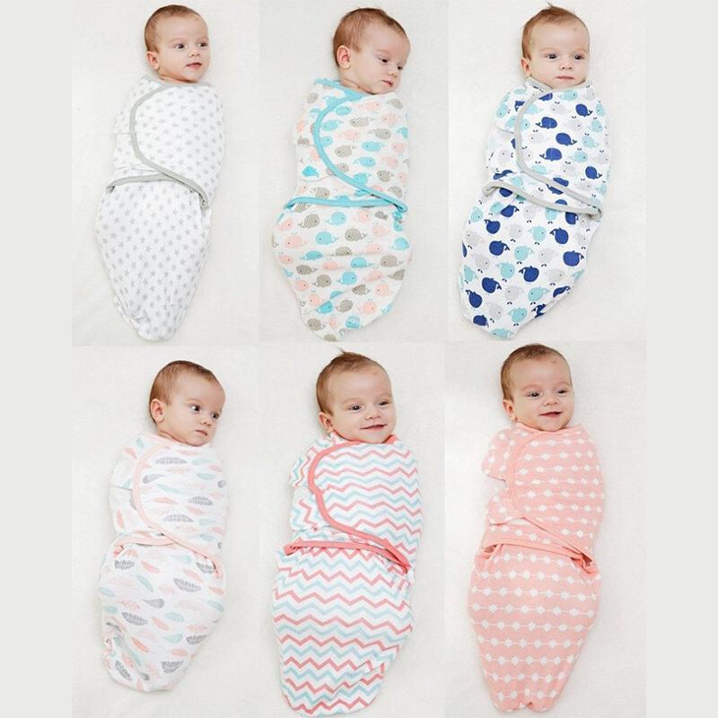 الوليد الطفل قماش للف الرضع Parisarc 100% القطن لينة منتجات الأطفال حديثي الولادة بطانية و التقميط التفاف بطانية كيس النوم