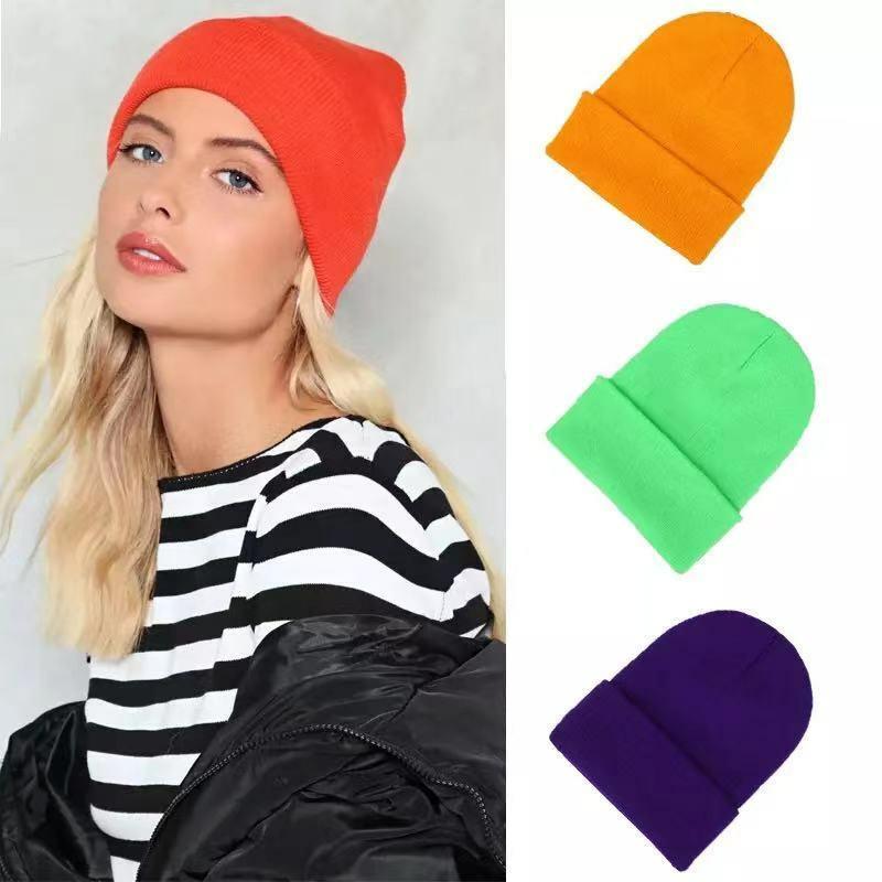 قبعات تزلج للبنات ، أكريليك ، لون الحلوى ، أزياء السيدات ، ركوب الهيب هوب ، عصري ، قبعة رقص الشارع