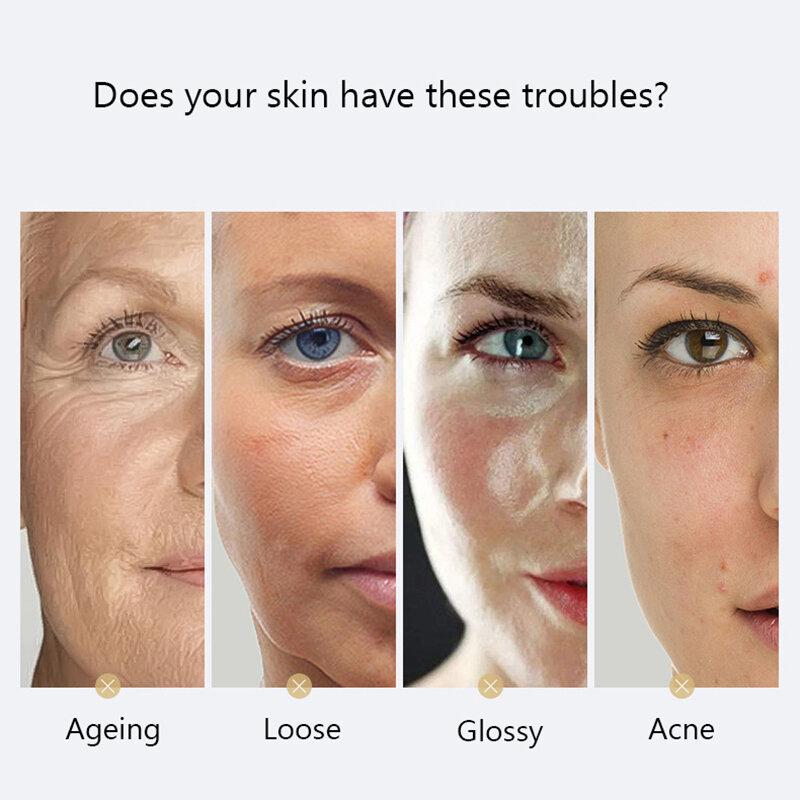فولرين تبييض ترطيب جوهر المضادة للأكسدة تحسين Dullness جوهر الوجه حتى الجلد لهجة اشراق الجلد مصل الوجه