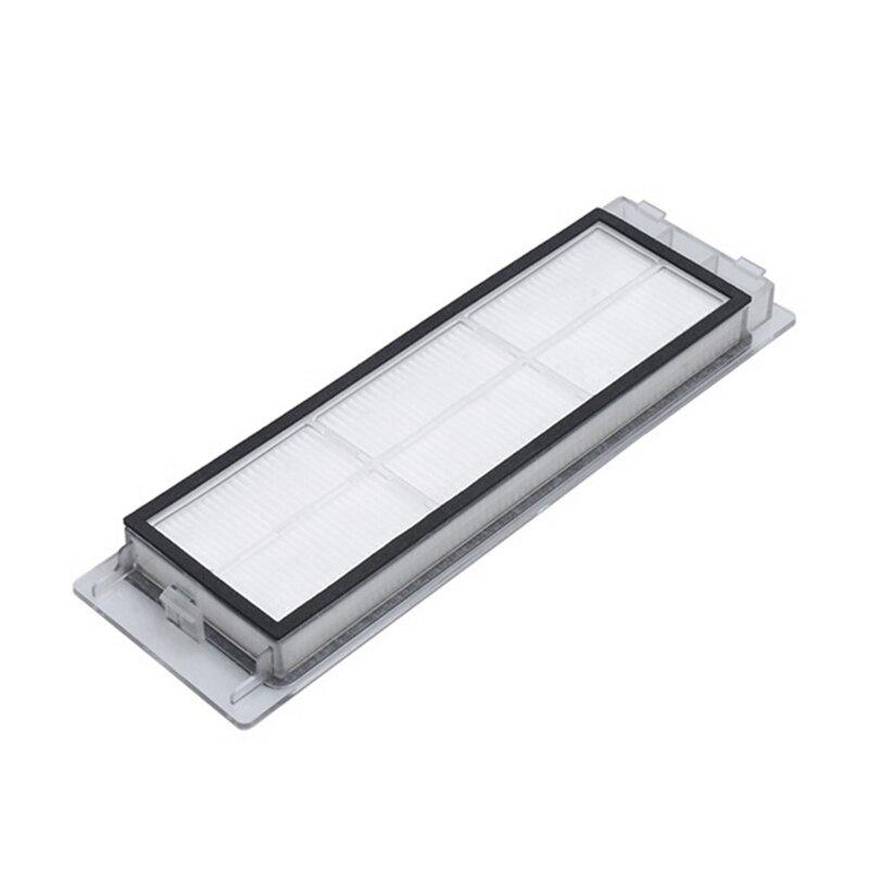 ملحقات المكنسة الكهربائية XiaoMi Roborock S6 و S60 و S65 و S5 و S55 و T6 و S55 ، أجزاء مكنسة كهربائية قابلة للغسل ، فلتر HEPA ، فرشاة جانبية ، فرشاة رئيسية