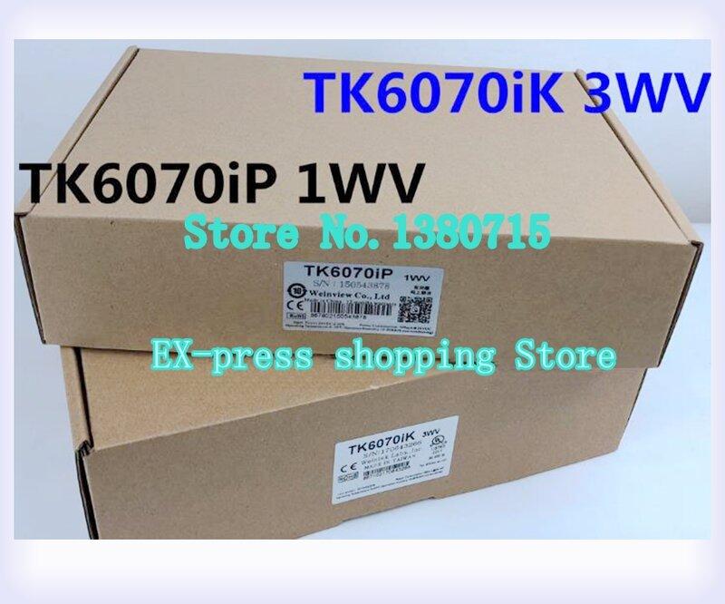 TK6070iK 3WV TK6070iP 1WV HMI لوحة اللمس HMI جديد