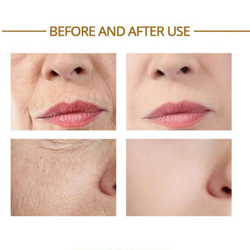 24k الذهب الوجه مصل مكافحة الشيخوخة المضادة للأكسدة ترطيب الوجه جوهر المضادة للتجاعيد تقليص المسام حمض الهيالورونيك المصل 15 مللي