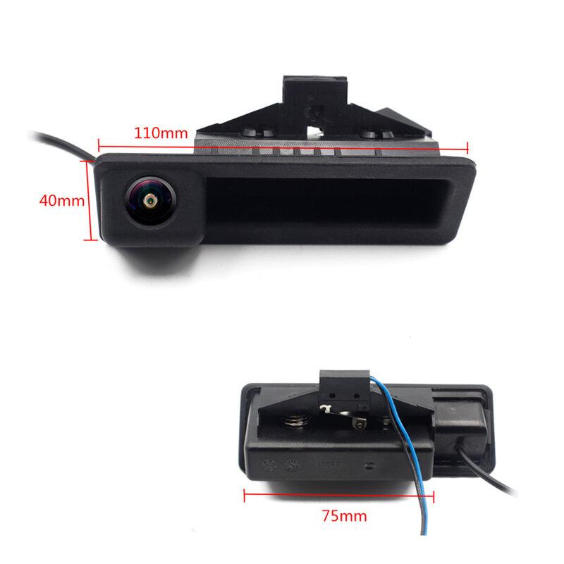 170 ° فيش AHD سيارة كاميرا الرؤية الخلفية لسيارات BMW E82 E84 E90 E91 E92 E93 E60 E61 3 5 X5 X6 CCD للرؤية الليلية HD عكس