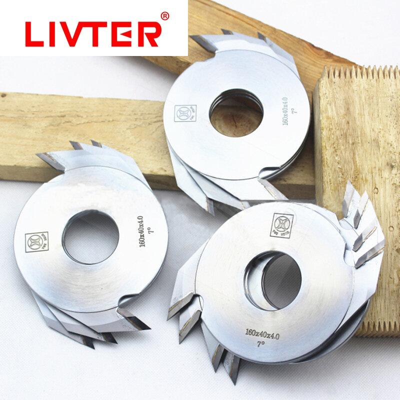 Livter 1 قطعة كربيد النجارة TCT قاطع مشترك الخشب الربط شفرات 160 مللي متر x 4.0 مللي متر قطع Deepth 12 مللي متر ل إصبع المشكل
