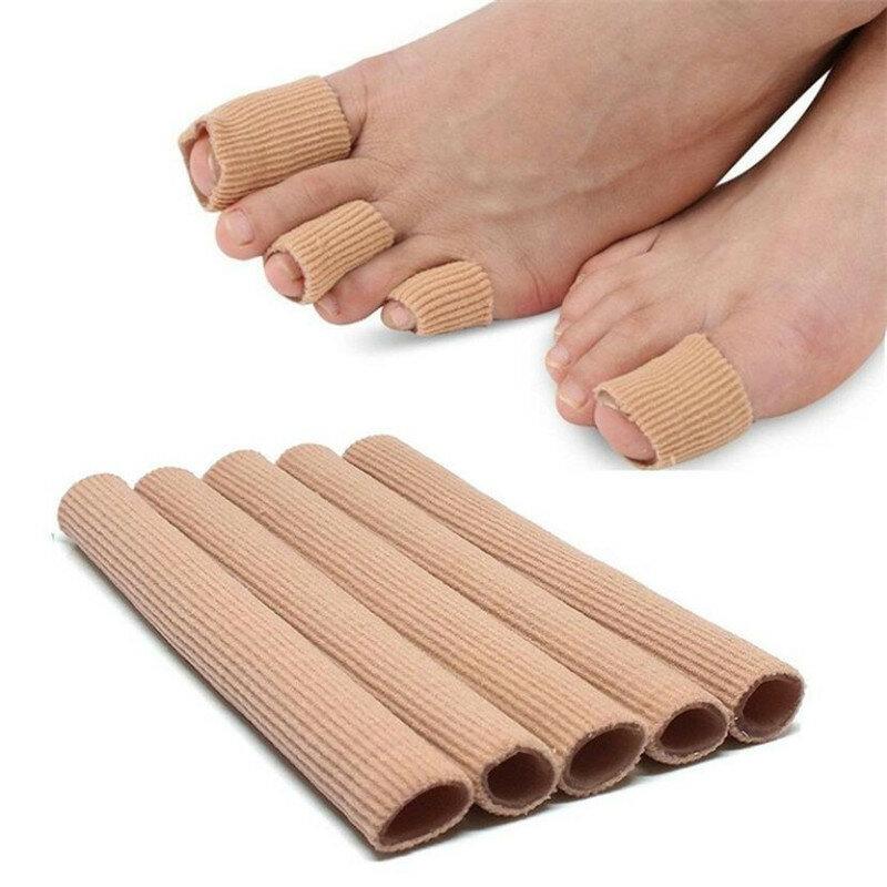 1 قطعة فاصل أصابع القدم إصبع حامي قضيب الذرة الكالس مزيل الورم مصحح إدراج نعل الألم الإغاثة أنبوب القدم الرعاية