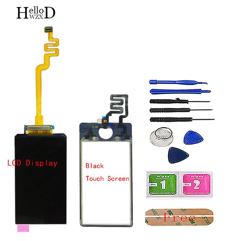 شاشة LCD لجهاز iPod Nano 7 الجيل السابع, شاشة LCD لجهاز ipod Nano 7 7th Gen LCD مجموعة المحولات الرقمية أجزاء لجهاز iPod Touch Screen Sensor أدوات 3M الغراء