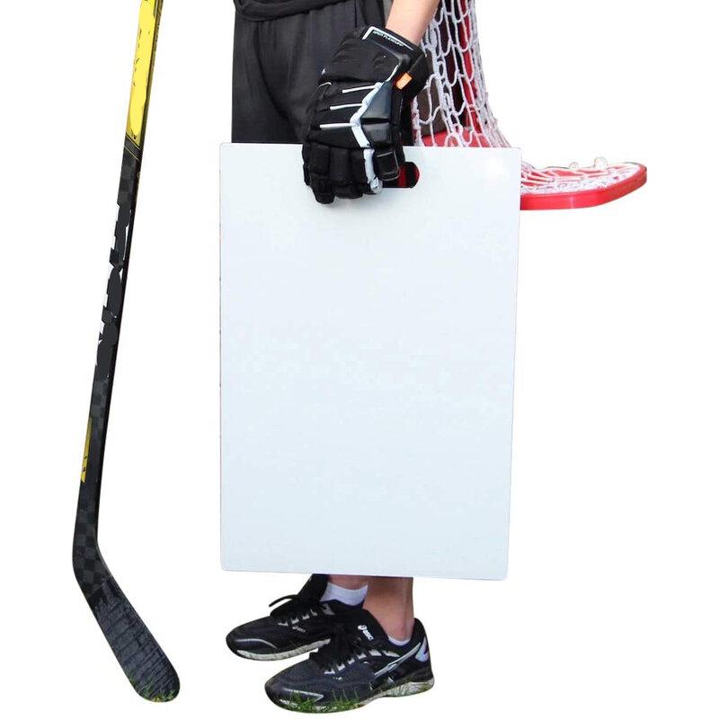 منصة إطلاق الهوكي الجليد يحاكي الشعور من الجليد الحقيقي سطح الممارسة المهنية الصف لاطلاق النار تمرير Stickhandling