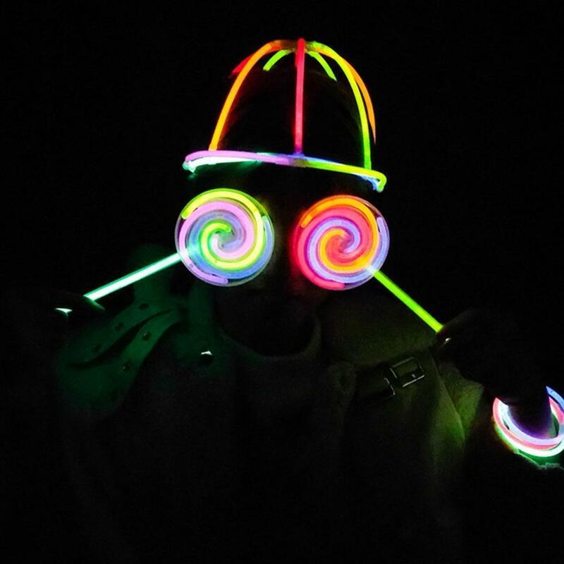 ألعاب متململة توهج عصا في الليل توهج عصا مضيئة عصا لوازم الحفل H3P9