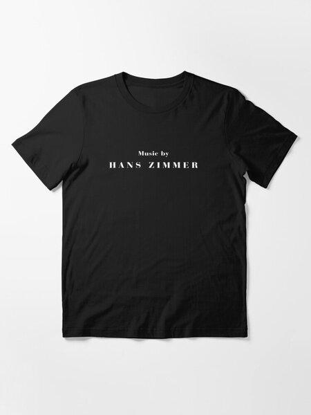 الموسيقى من قبل هانز زيمر الأساسية تي شيرت