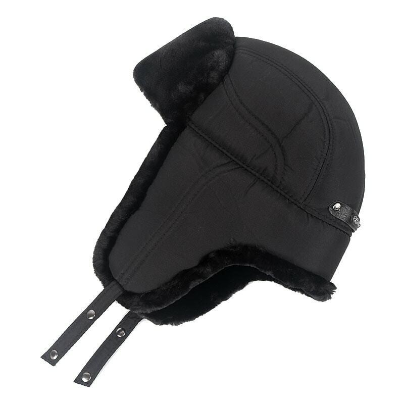 قبعة رجالي منفوخة 2020 قبعة شتاء دافئة من الفرو الصناعي للرجال قبعات للرجال سومبريرو موجر بونيه إنفانت