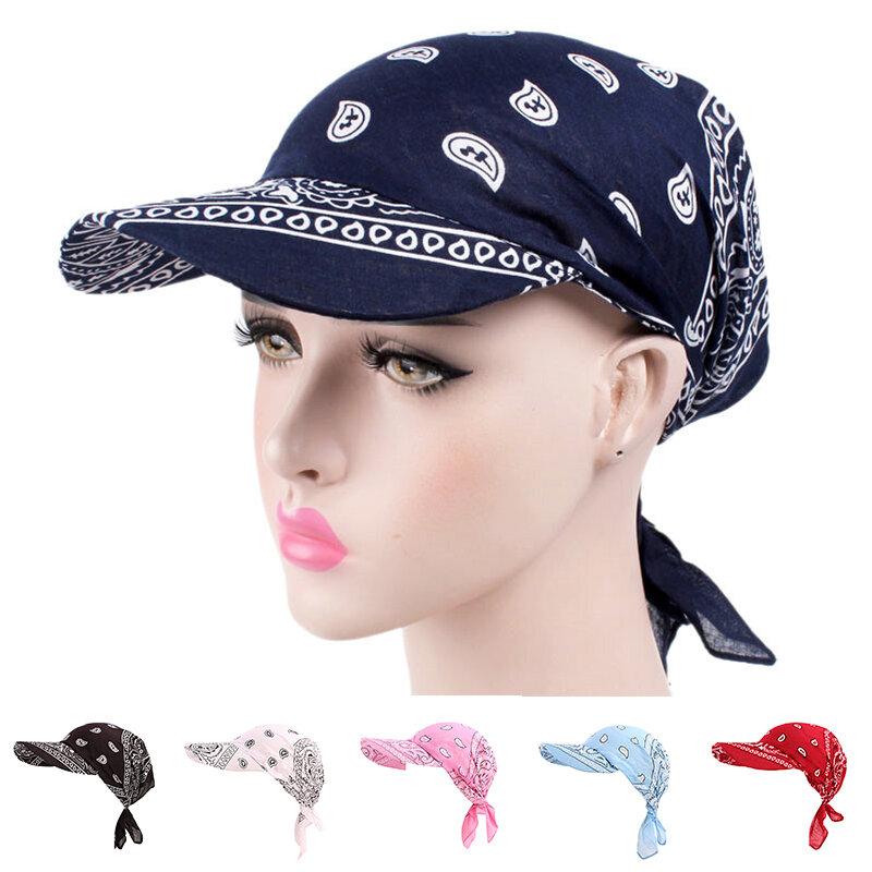 النساء الرجال للجنسين القطن قبعة موضة ساحة وشاح قبعة لينة الحجاب قبعة بيسبول في الهواء الطلق حافة ظلة القبعات هدية الهيب هوب